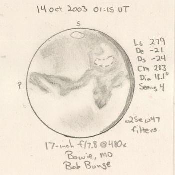 Mars on 2003/10/14